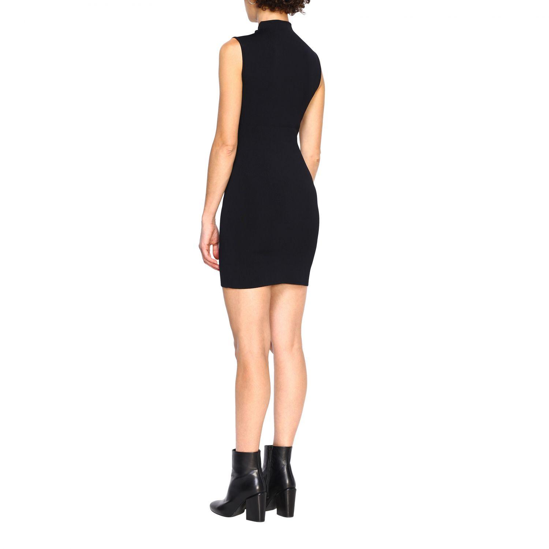 Kleid Pinko: Kurzes Pinko Aborigeno Kleid mit Mini Spiegeln schwarz 2