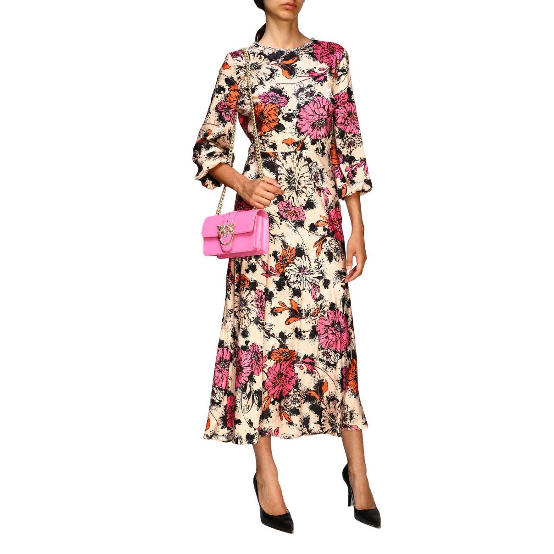 连衣裙 Pinko: 连衣裙 女士 Pinko 粉色 2