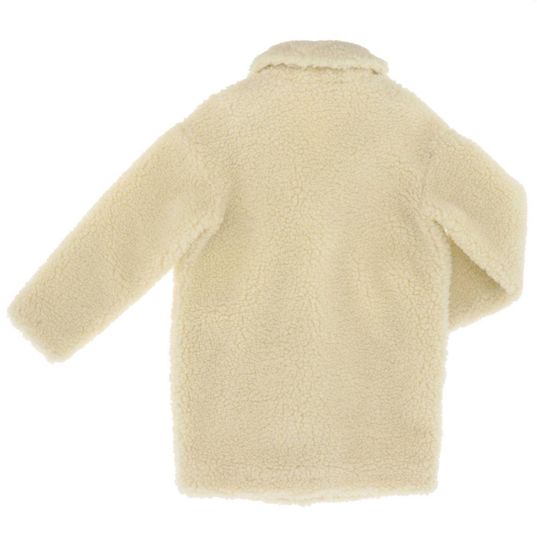 Coat kids Pinko white 2