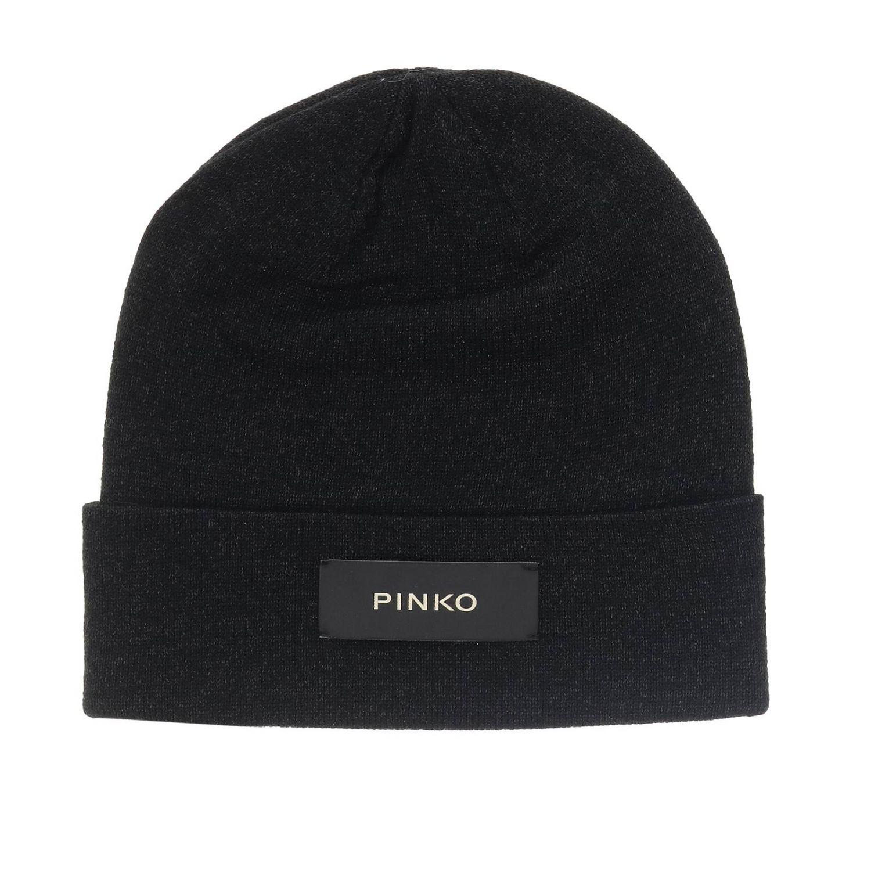 Шапка Novecento 1 Pinko с логотипом черный 1