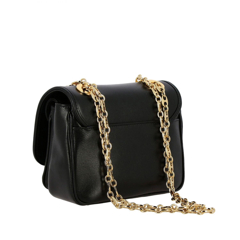 Gucci Marina mini leather bag black 2