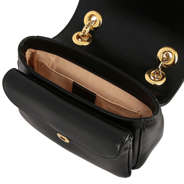 Gucci Marina mini leather bag black 4
