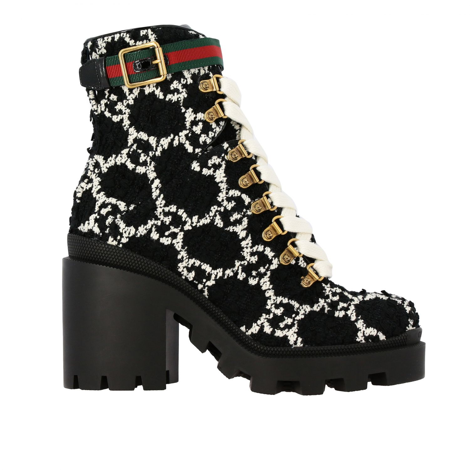 gucci black shoes for women