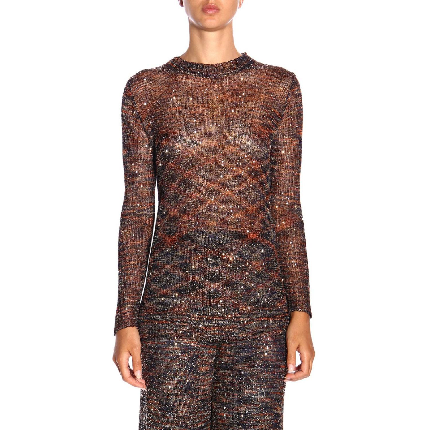 Jersey mujer Missoni bronce 1