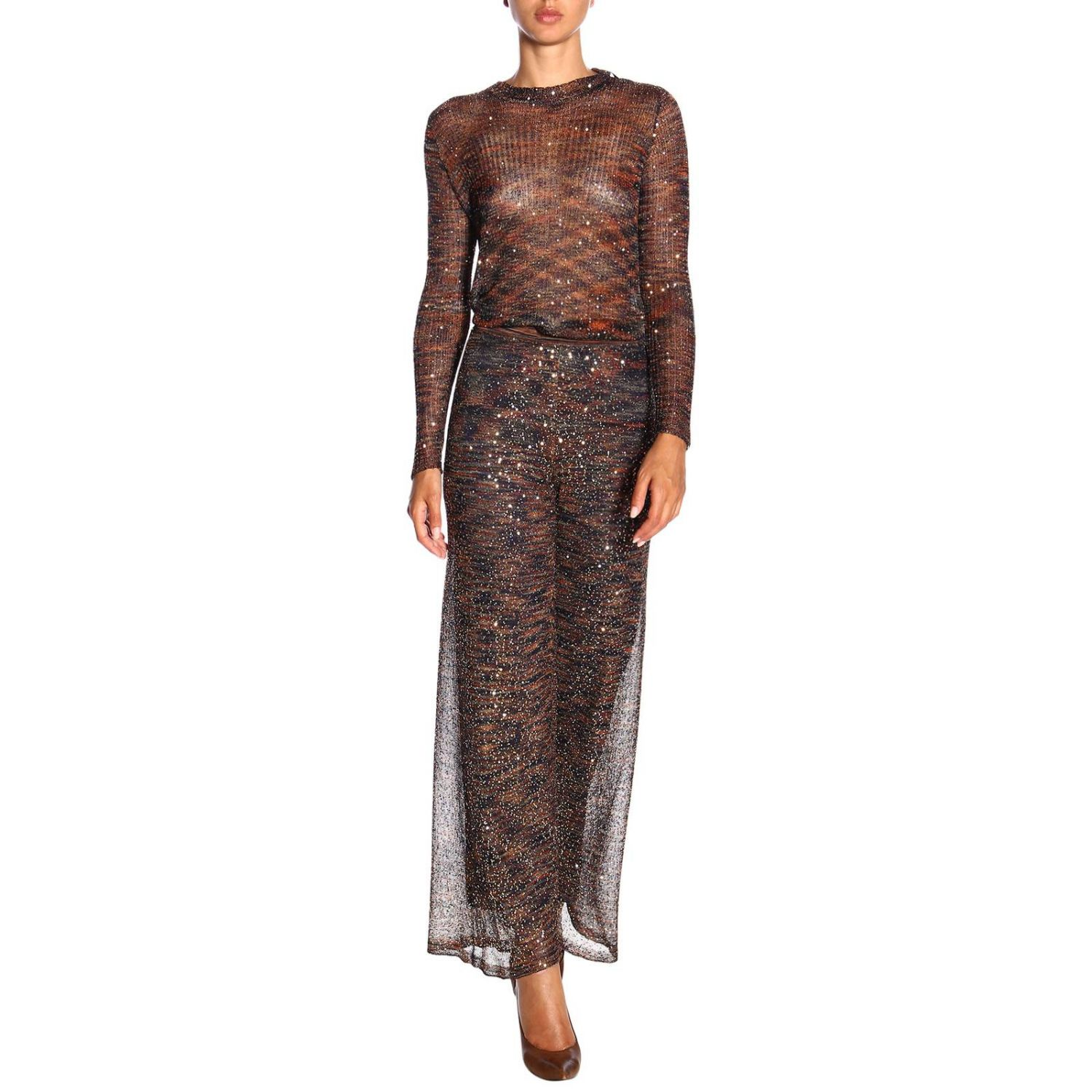 Jersey mujer Missoni bronce 2