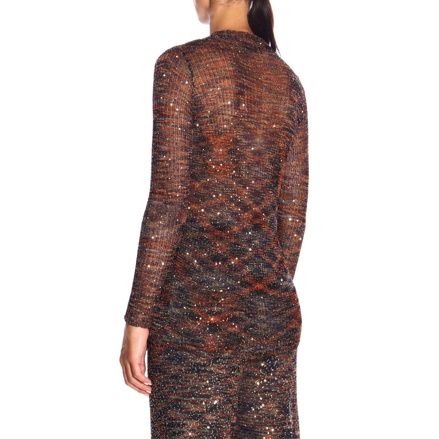 Jersey mujer Missoni bronce 3