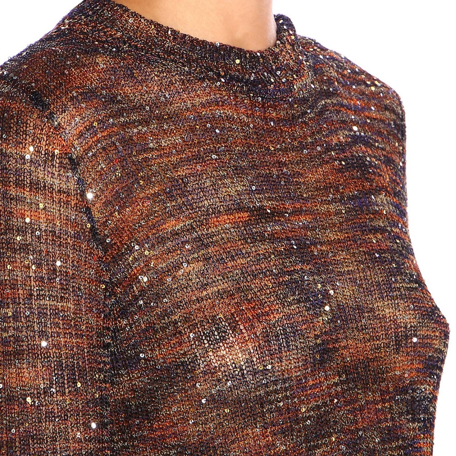 Jersey mujer Missoni bronce 4