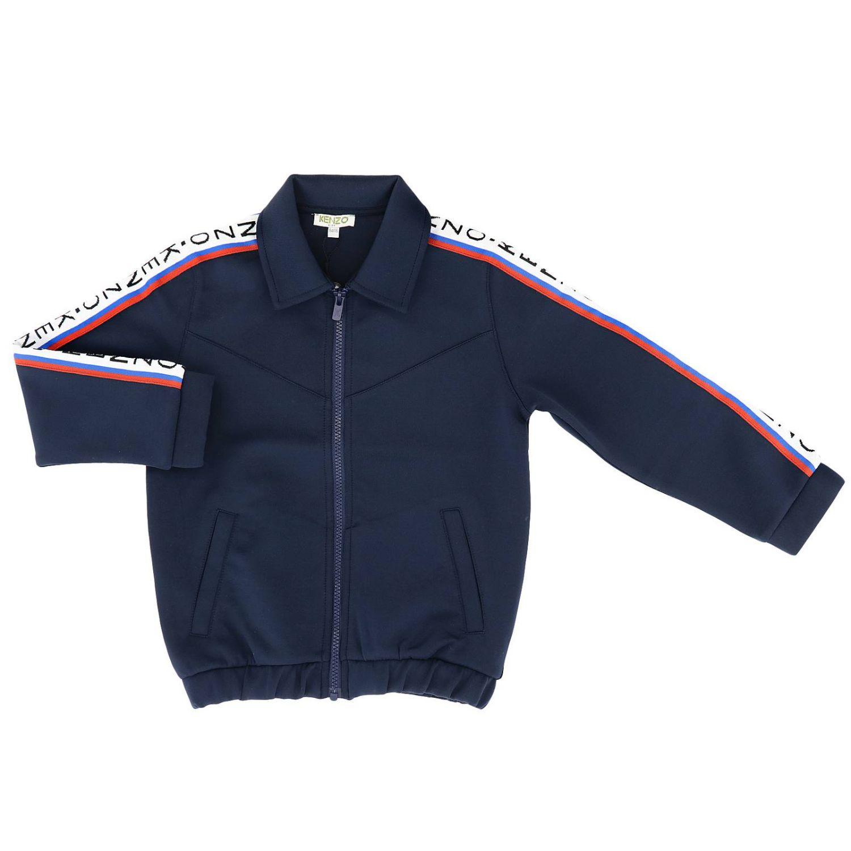 Pull Kenzo Junior: Pull enfant Kenzo Junior bleu 1