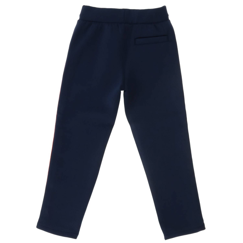 Pantalón niños Kenzo Junior azul oscuro 2