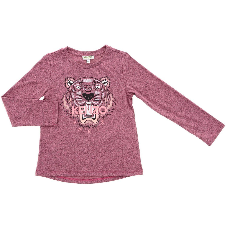 Camisetas niños Kenzo Junior rosa 1