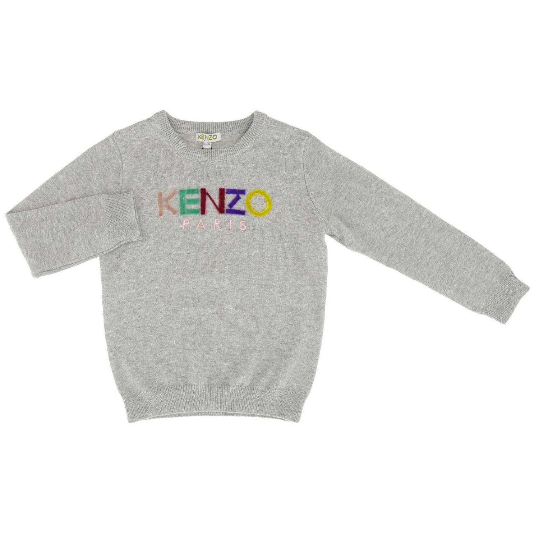 Jersey niños Kenzo Junior gris 1