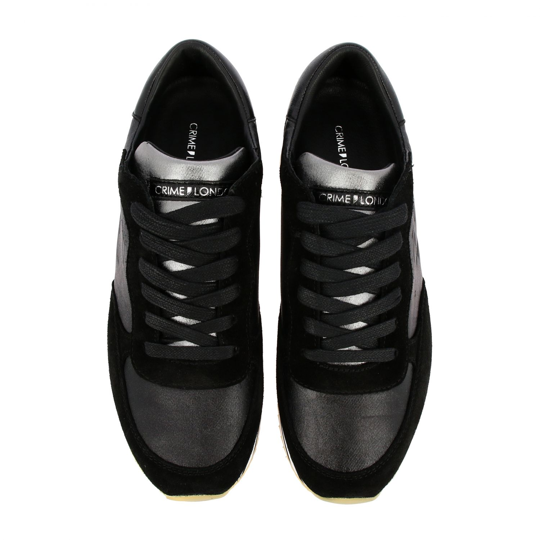 Sneakers Crime London: Shoes women Crime London black 3