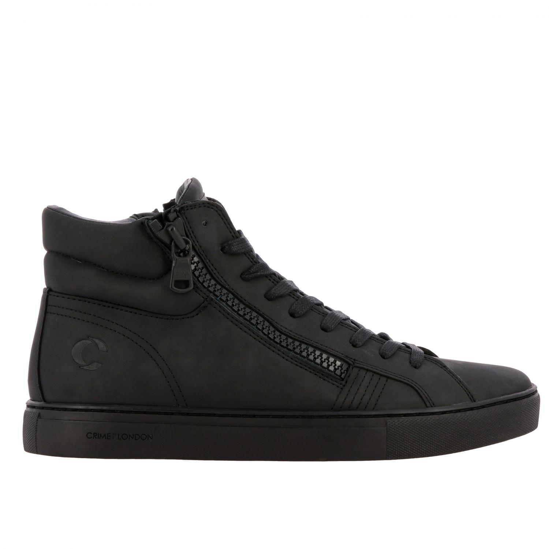 Baskets Crime London: Chaussures homme Crime London noir 1