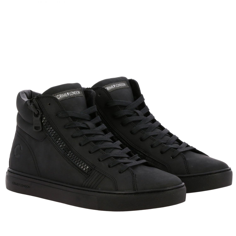 Baskets Crime London: Chaussures homme Crime London noir 2