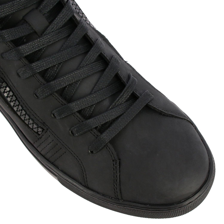 Baskets Crime London: Chaussures homme Crime London noir 4