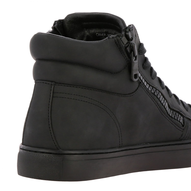 Baskets Crime London: Chaussures homme Crime London noir 5