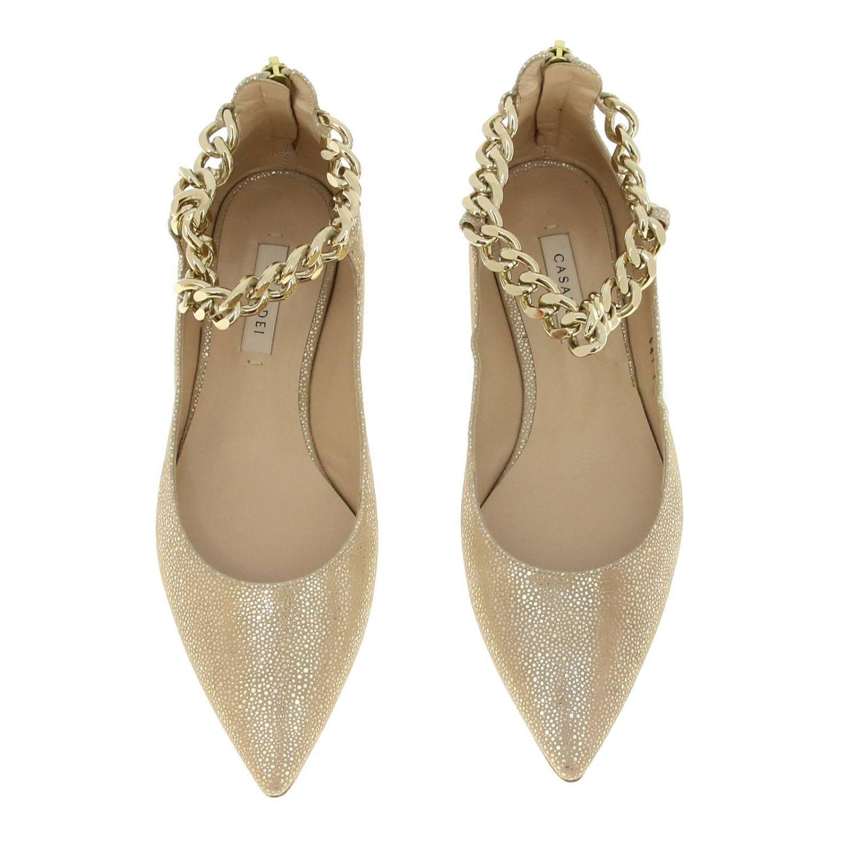 Shoes women Casadei gold 3