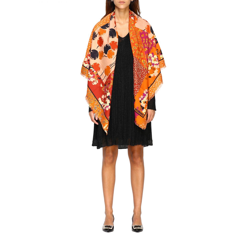 Scarf Missoni: Scarf women Missoni orange 1