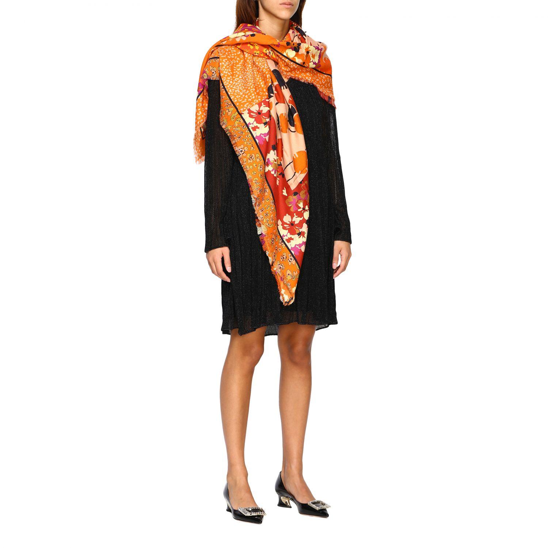 Scarf Missoni: Scarf women Missoni orange 2