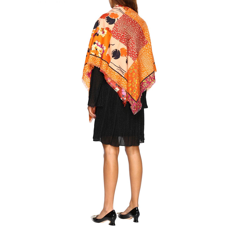 Scarf Missoni: Scarf women Missoni orange 3