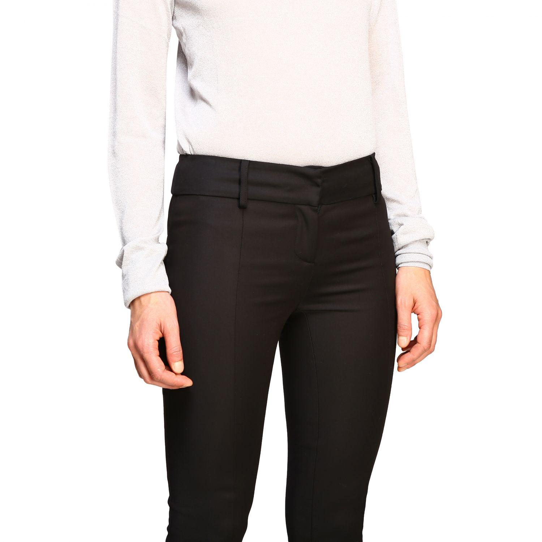 正式西装 Patrizia Pepe: 裤子 女士 Patrizia Pepe 黑色 5