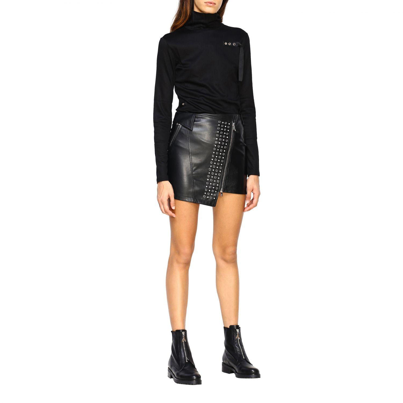 Skirt women Patrizia Pepe black 2