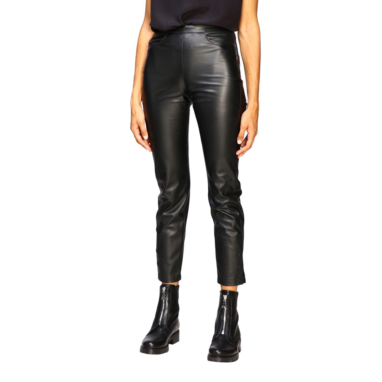 Trousers women Patrizia Pepe black 4