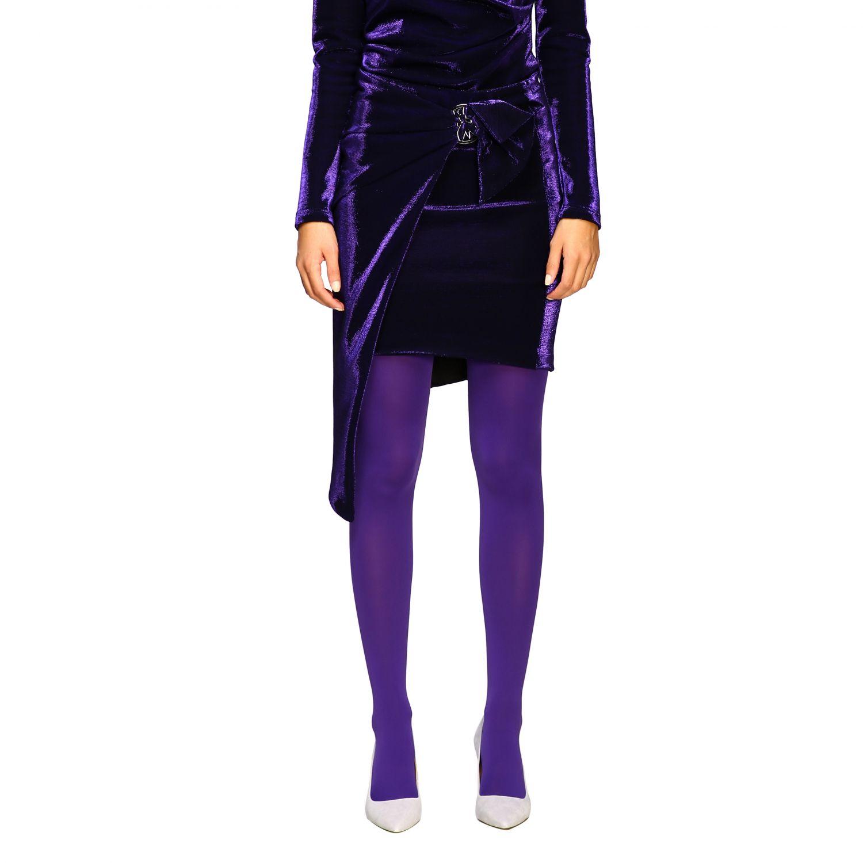 Skirt women Patrizia Pepe violet 1