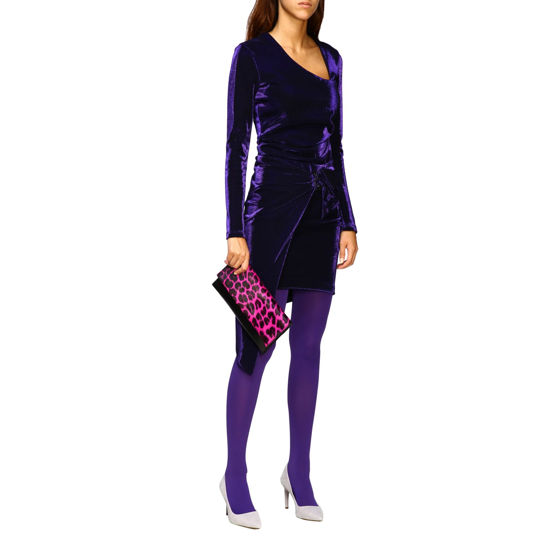 Skirt women Patrizia Pepe violet 2