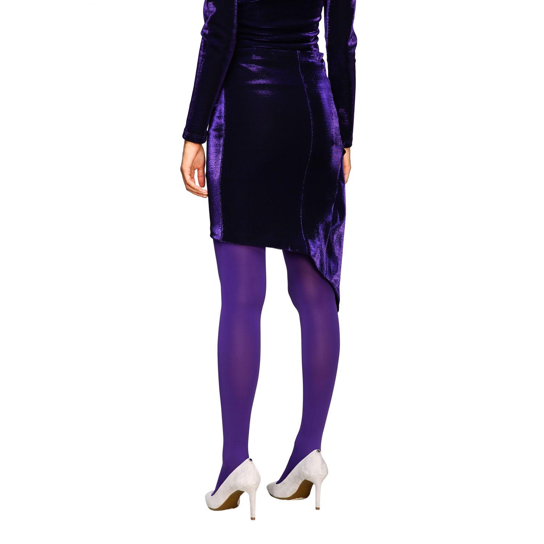 Skirt women Patrizia Pepe violet 3