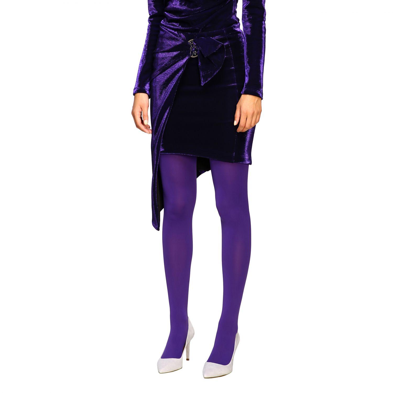 Skirt women Patrizia Pepe violet 4