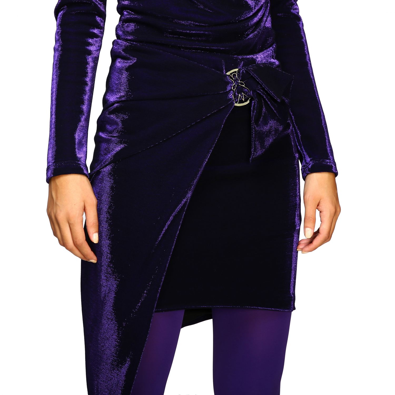 Skirt women Patrizia Pepe violet 5