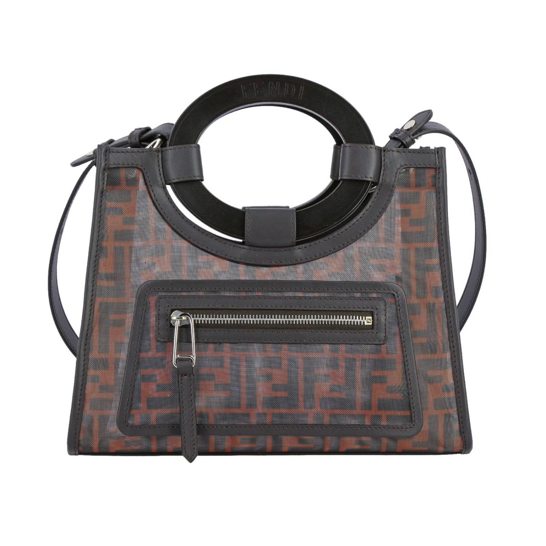 Shoulder bag women Fendi tobacco 1