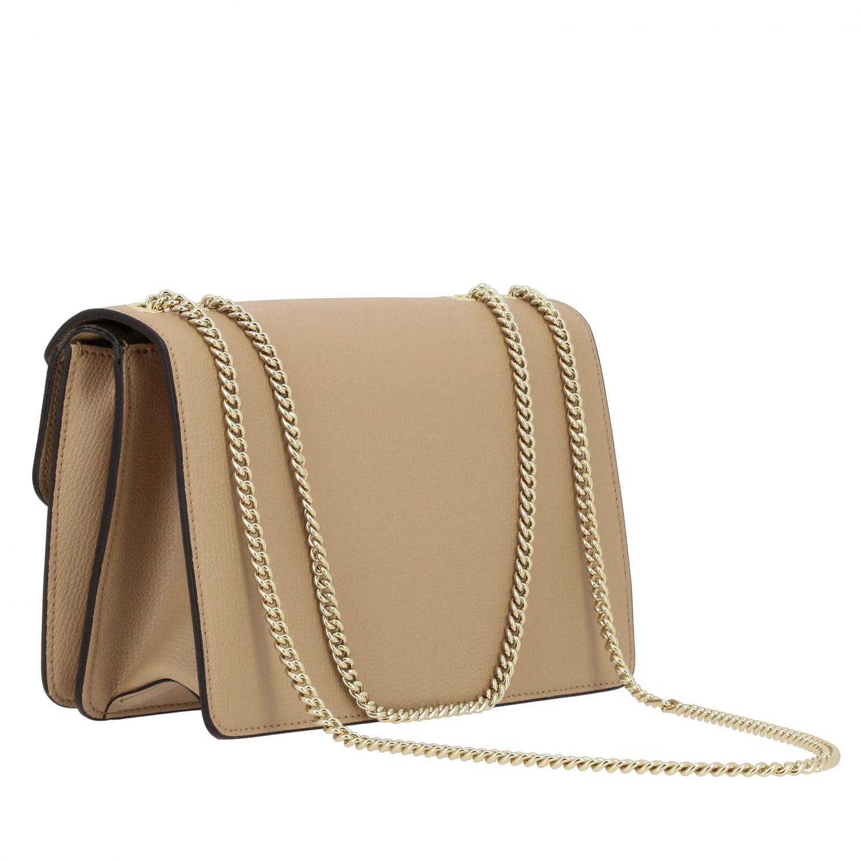 Petit sac Fendi Bug bags en cuir beige 2