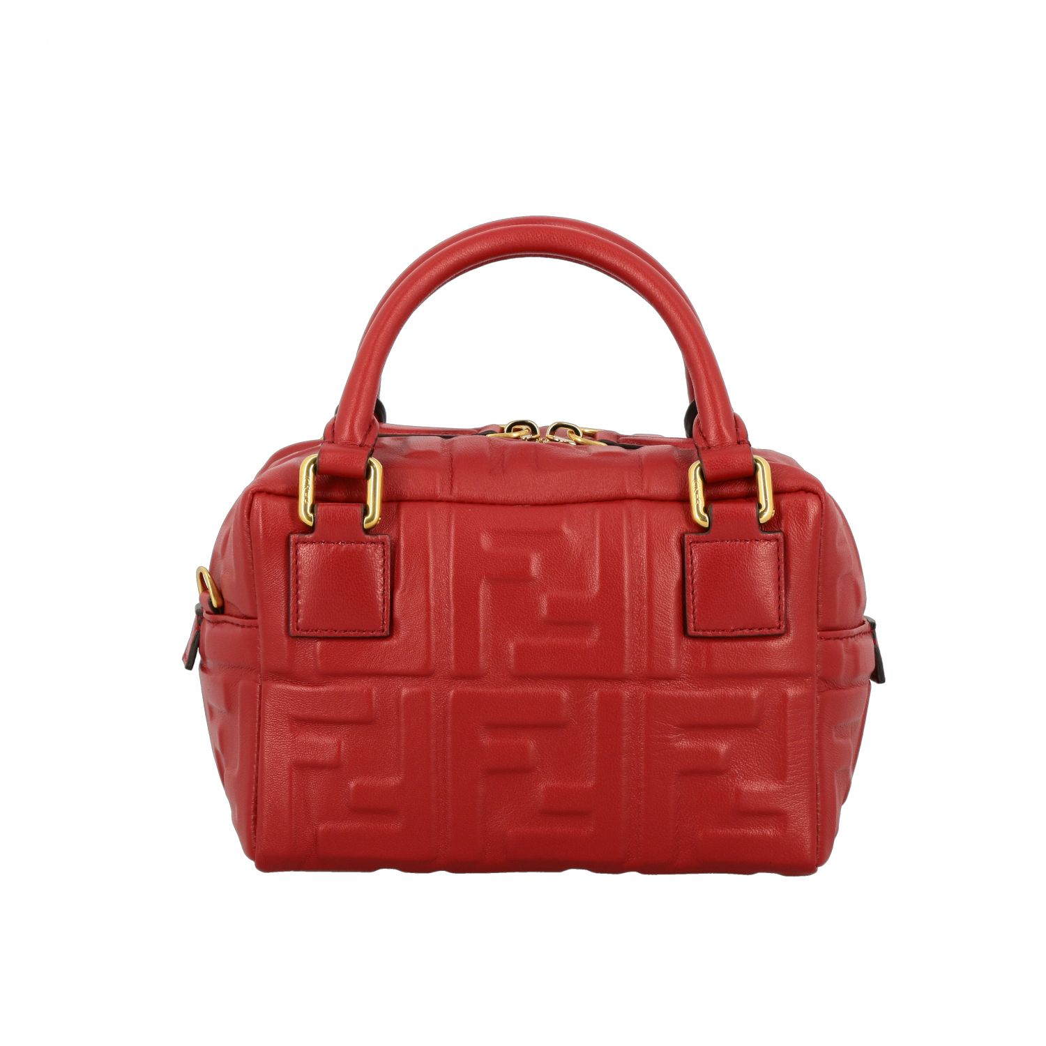 Mini bag women Fendi red 1