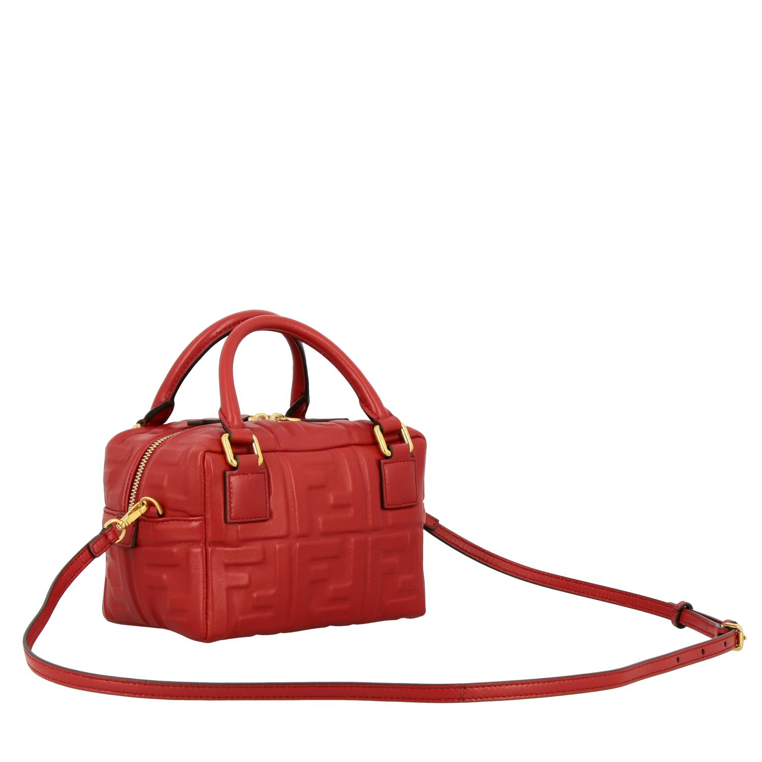 Mini bag women Fendi red 3