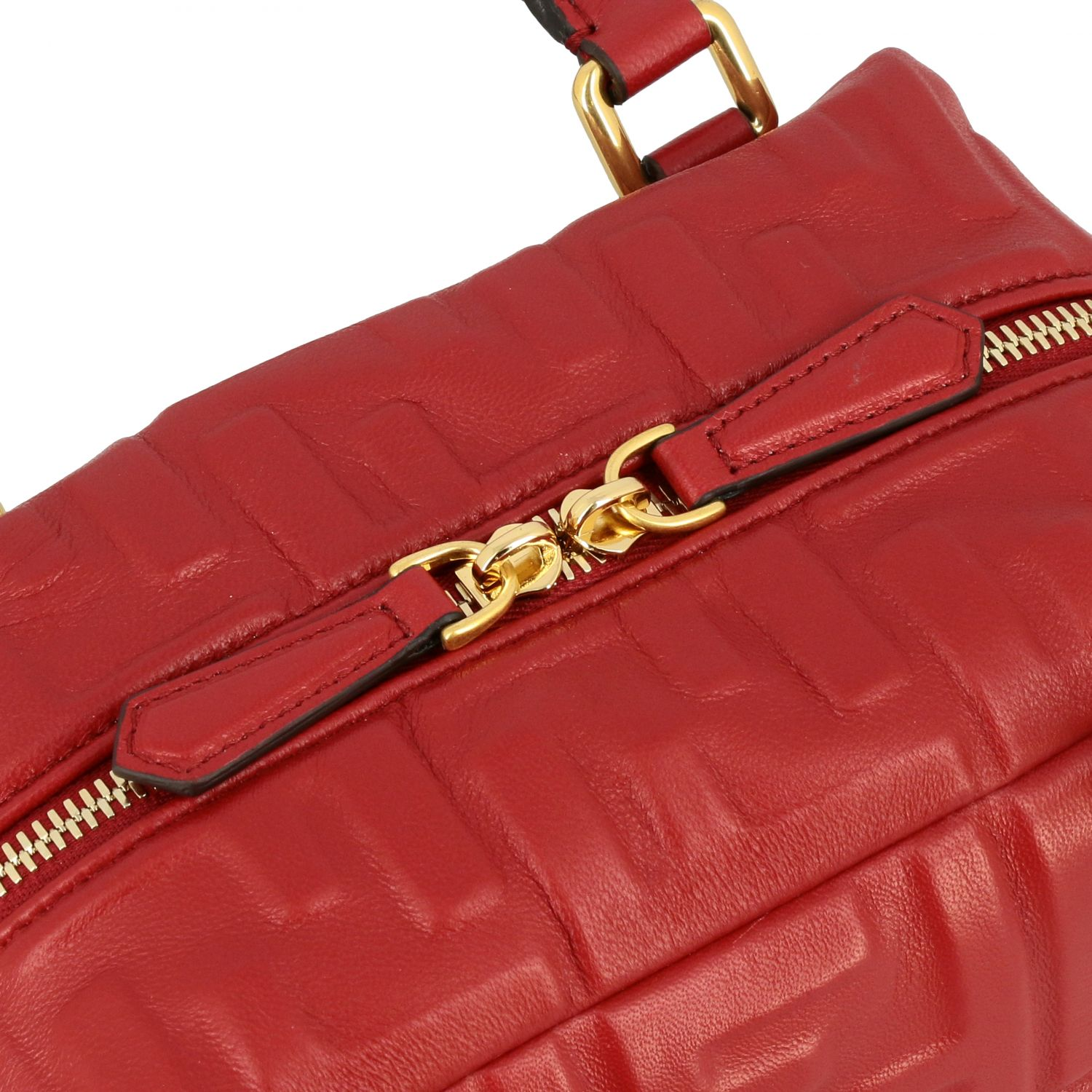 Mini bag women Fendi red 4