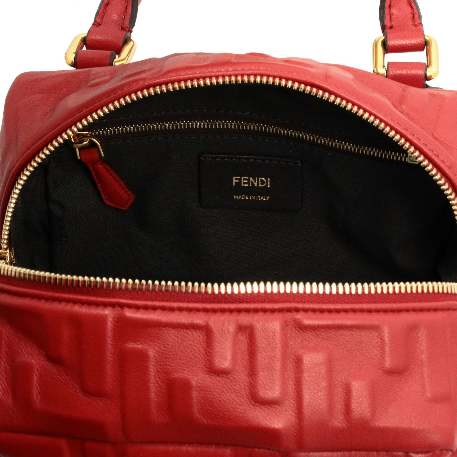 Mini bag women Fendi red 5