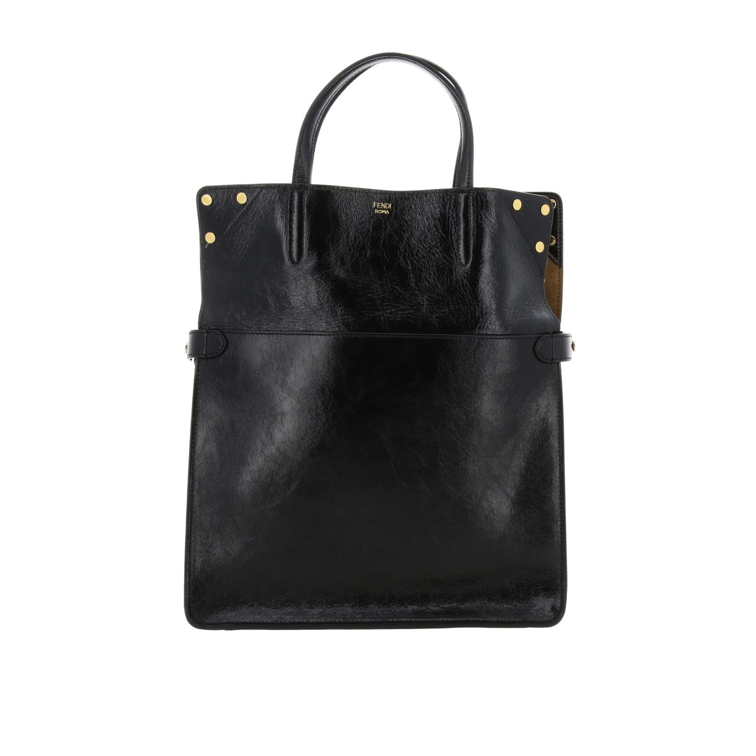 Shoulder bag women Fendi black 3