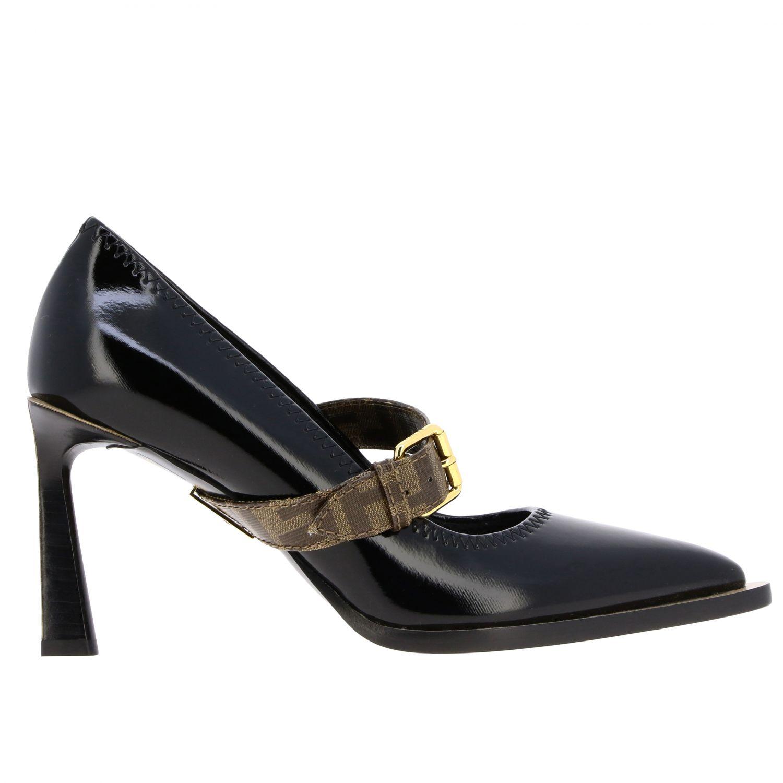 鞋 女士 Fendi 黑色 1