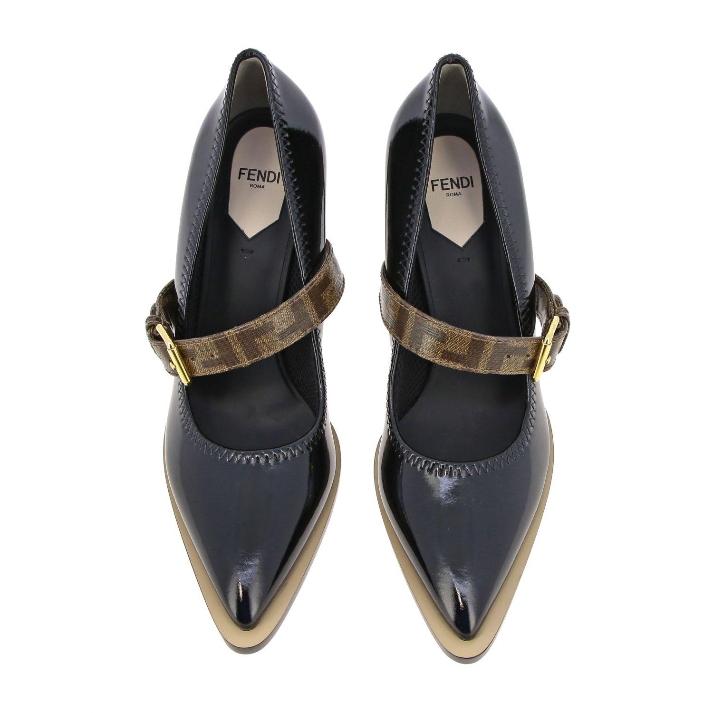 鞋 女士 Fendi 黑色 3