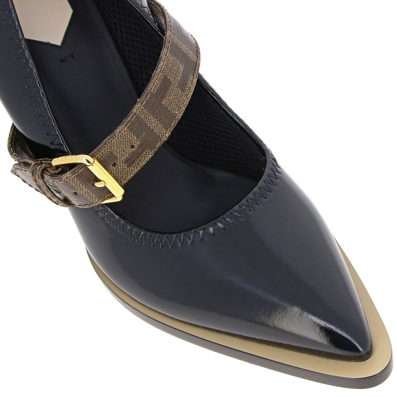 鞋 女士 Fendi 黑色 4
