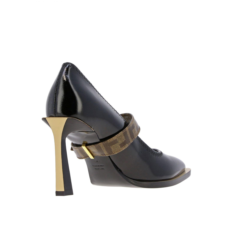 鞋 女士 Fendi 黑色 5