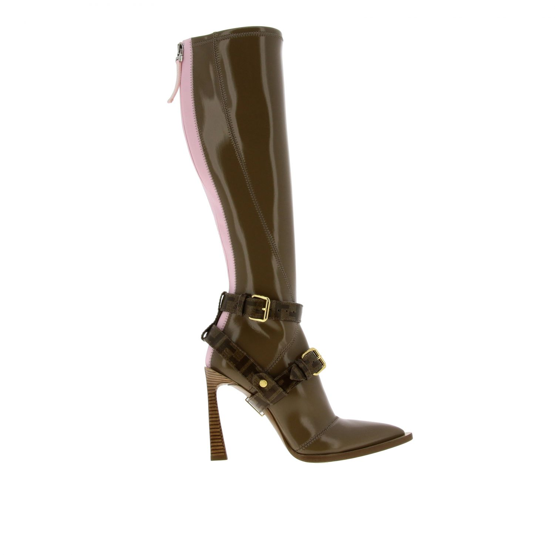Shoes women Fendi beige 1