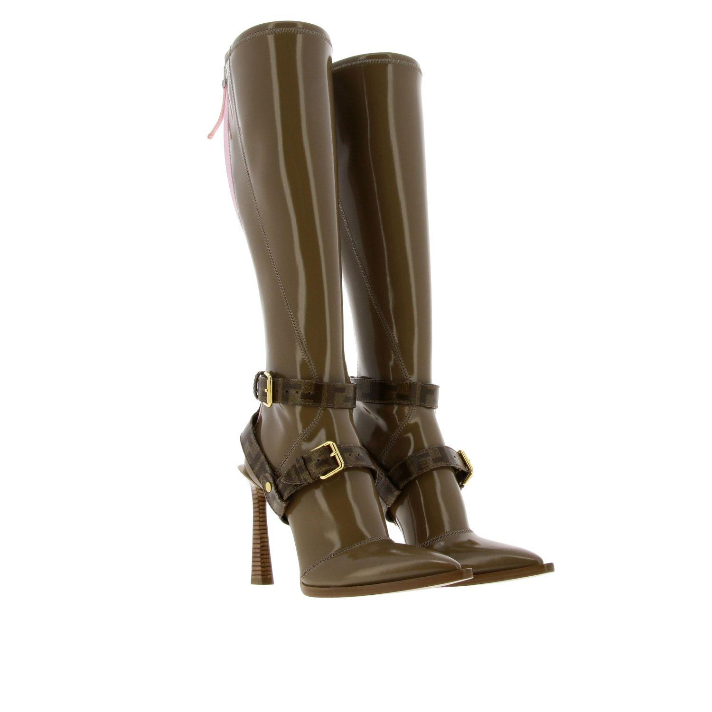 Shoes women Fendi beige 2
