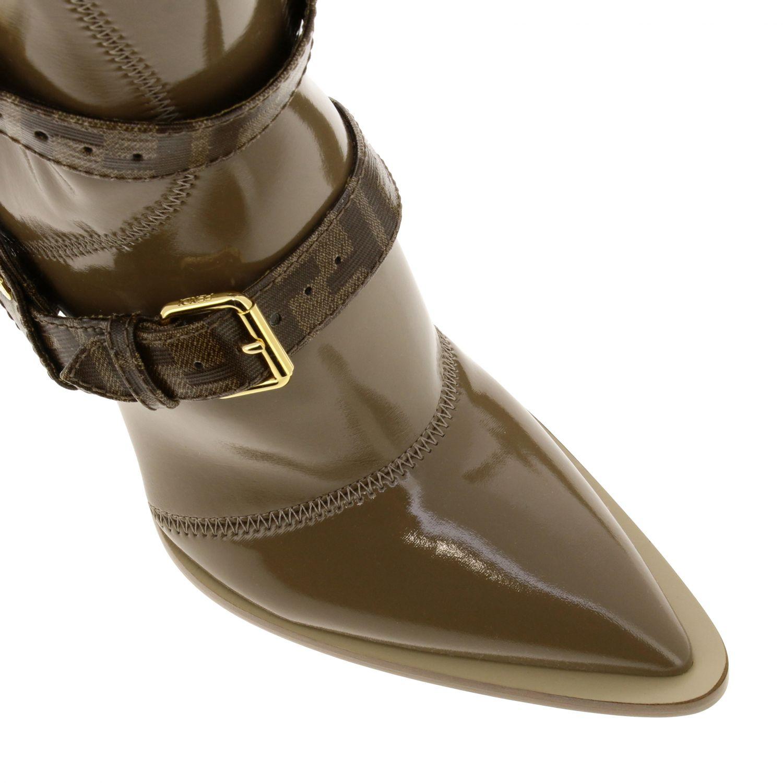 Shoes women Fendi beige 3