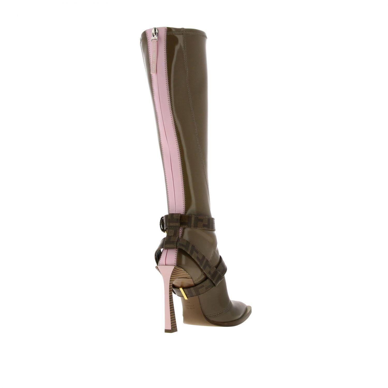Shoes women Fendi beige 4