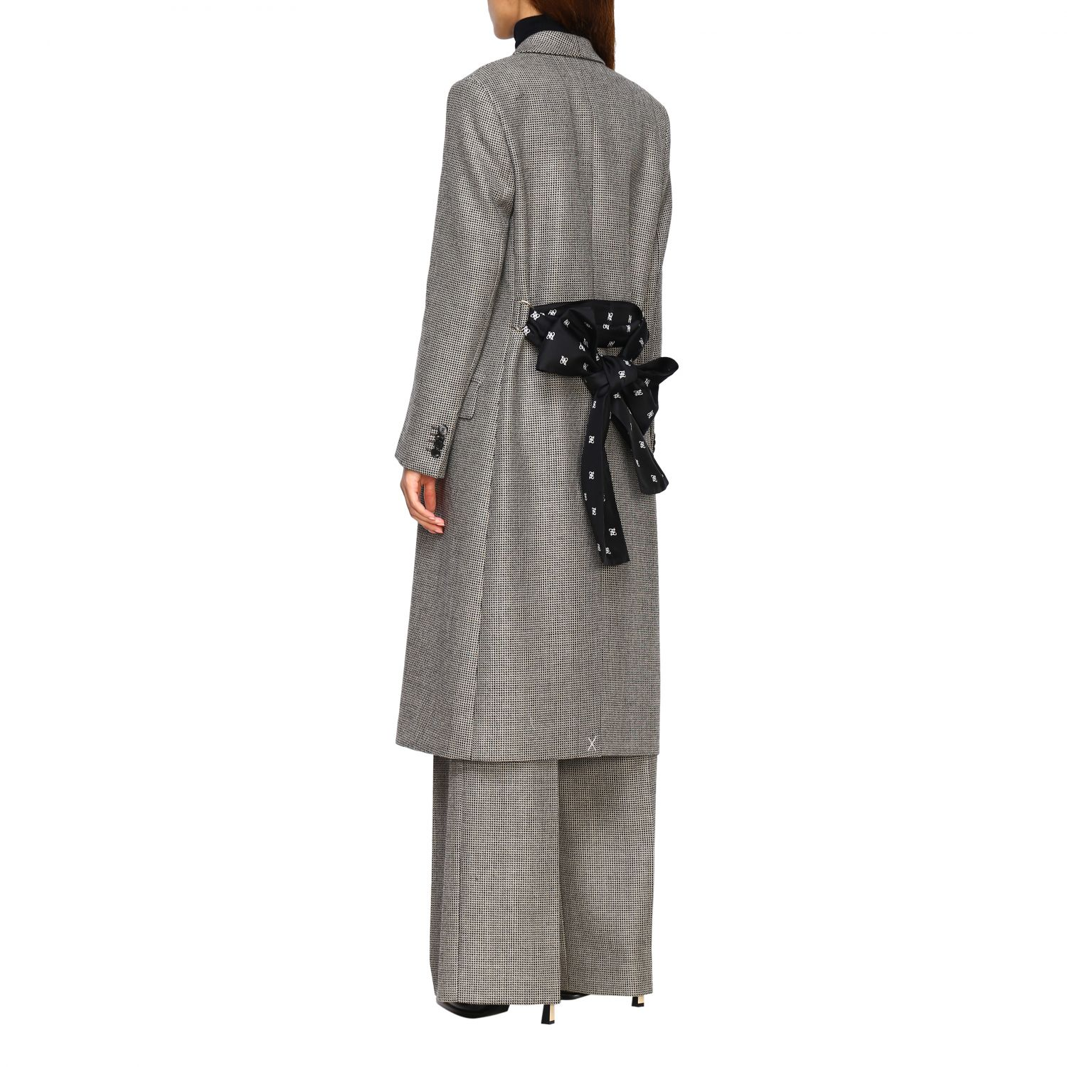 Coat women Fendi grey 3