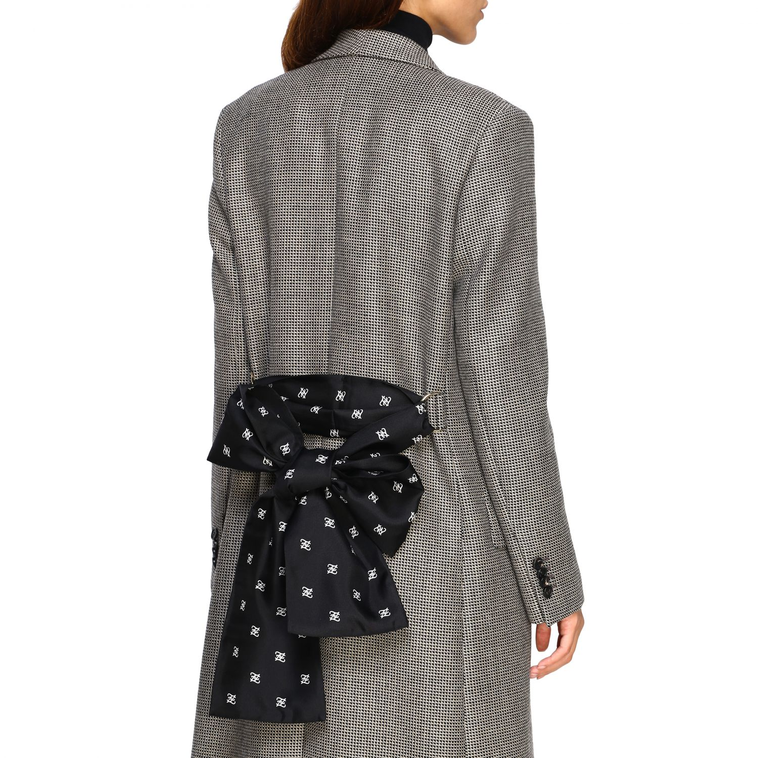 Coat women Fendi grey 5