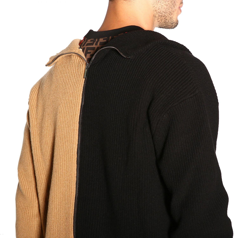 Jersey hombre Fendi camello 5